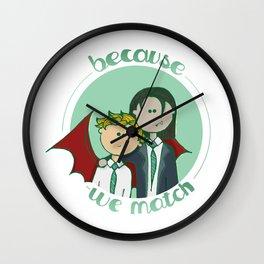 We match Wall Clock