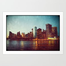 When the Lights Go Out Art Print