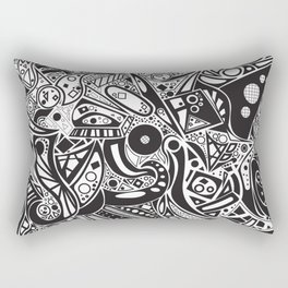 #doodles Rectangular Pillow