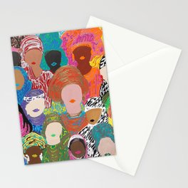 Ladies of Eid Two Stationery Cards