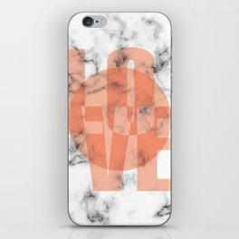 Marble Love 049 iPhone Skin