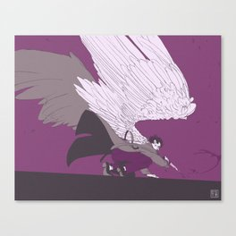 Cas - ace palette Canvas Print