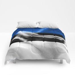 Estonia Flag Comforters