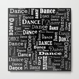 Just Dance! Metal Print