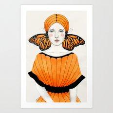 Anais Art Print