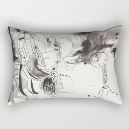 questioning the muse (again) Rectangular Pillow