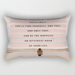 Someday, Somewhere, Anywhere... Rectangular Pillow