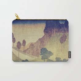 A Valley in the Evening Carry-All Pouch