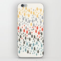 Rainbow Drops iPhone & iPod Skin