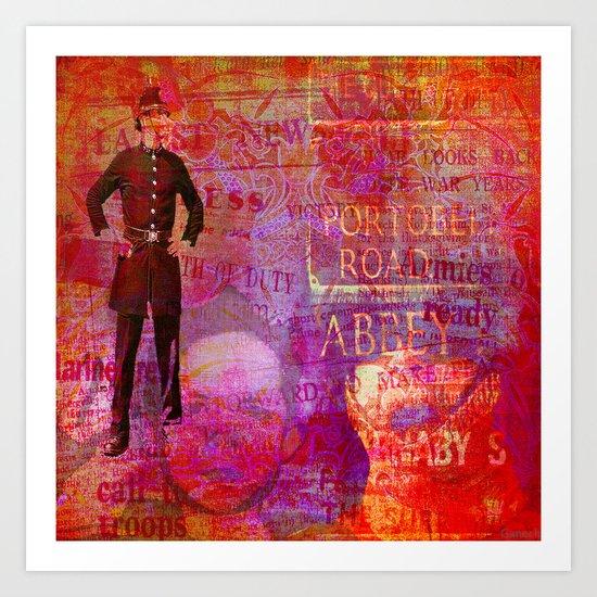 God save England Art Print