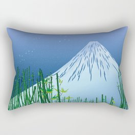 A moonless night Rectangular Pillow