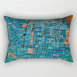 Odessa old map Rectangular Pillow