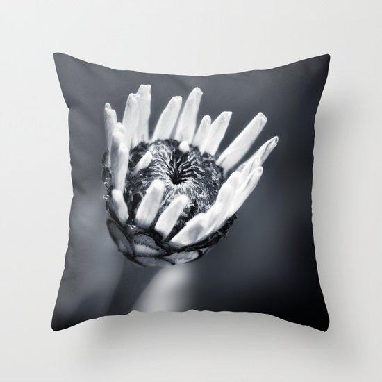 LIFE IN MONO - FILIGREE Throw Pillow
