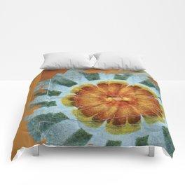 Bacterially Pattern Flower  ID:16165-042044-49241 Comforters