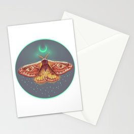 Nocturnal friend Stationery Cards