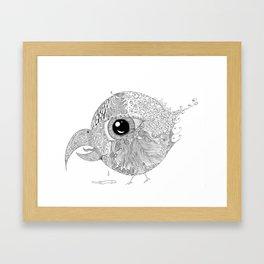 Sad Bird Framed Art Print