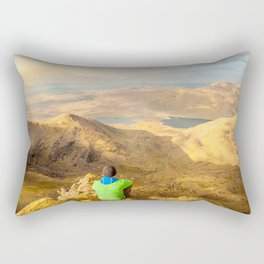 Connemara view Rectangular Pillow