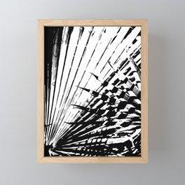 Spiked Palm Framed Mini Art Print