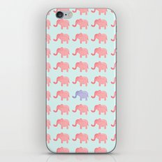 Elephant pattern 1211 iPhone & iPod Skin