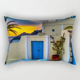 Santorini 27 Rectangular Pillow