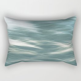 Troubled Waters Rectangular Pillow