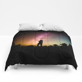 Stargazing - Super Smash Brothers Comforters