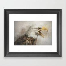 The Eagles Call Framed Art Print