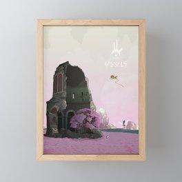 Ancient Ruins Framed Mini Art Print