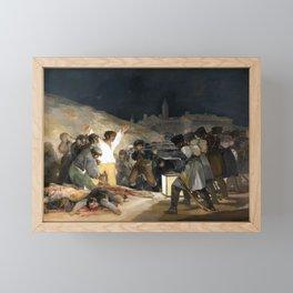 Francisco de Goya The Third of May 1808 Framed Mini Art Print