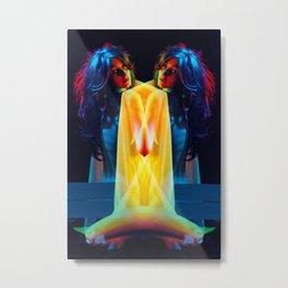In Rainbows Metal Print