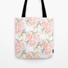 Sparkling Rosé flora Tote Bag