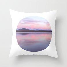 Solitude On The Lake Throw Pillow