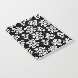 Black roses bouquet Notebook