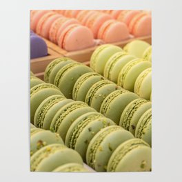 Delicious Macaroons Poster