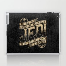 To Be A Jedi Laptop & iPad Skin