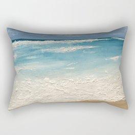 Destin Beach - Oil Painting Rectangular Pillow