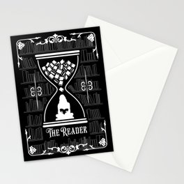 The Reader Tarot Card Stationery Cards
