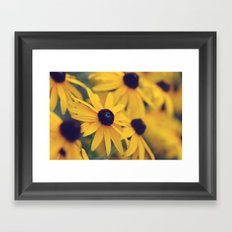 Happiness lies within Framed Art Print