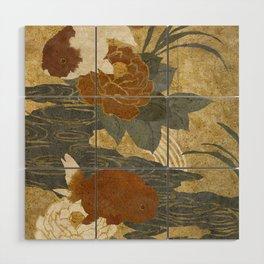 Ranchu Wood Wall Art