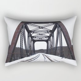 Winter Trestle Rectangular Pillow