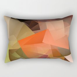 Cubism Abstract 195 Rectangular Pillow