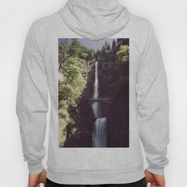 Multnomah Falls Waterfall - Nature Photography Hoody