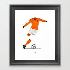 Netherlands (KNVB) 1978 Framed Art Print