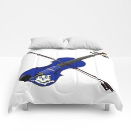 Connecticut State Fiddle Comforters