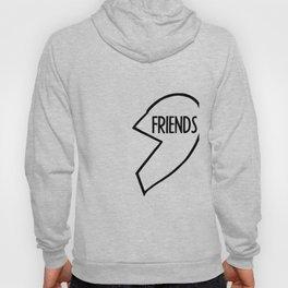 Best Friends T-Shirt I BFF, Couple, Burger Hoody