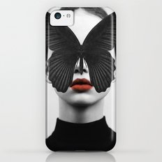 BLACK BUTTERFLY Slim Case iPhone 5c