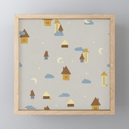 Under a Starry Sky Framed Mini Art Print