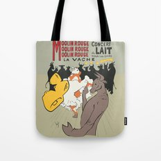 Moolin Rouge - This Cow Can Can Can Tote Bag