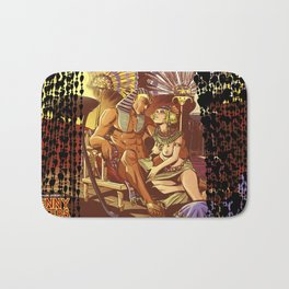 Dreaming with the pharaoh Bath Mat