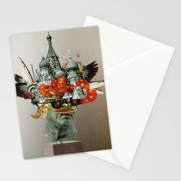 TomatenSalatStatue Stationery Cards